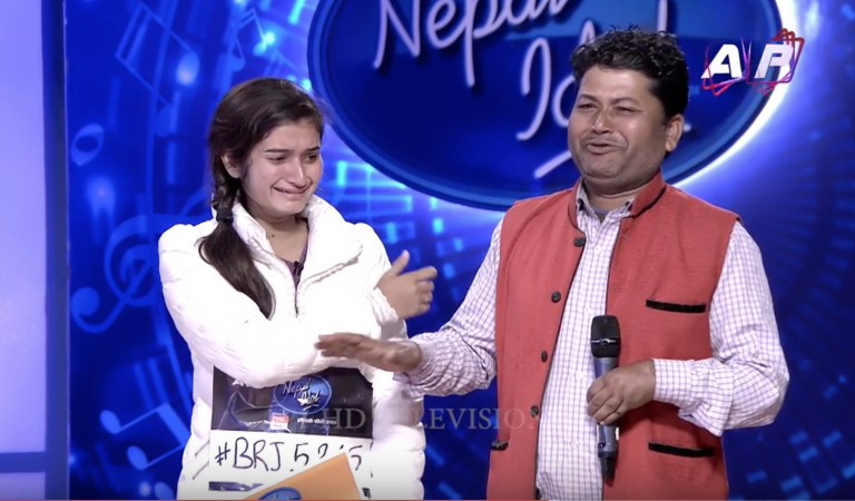 Shiwani Bhagat's story makes Indira Joshi very emotional | Nepal Idol Episode 4 from Birgunj