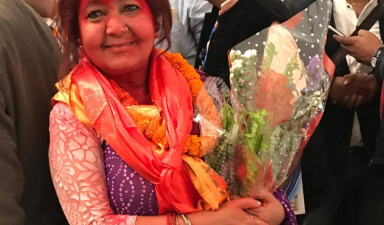 Victory for Kamala Shrestha in FNCCI Election for the third term
