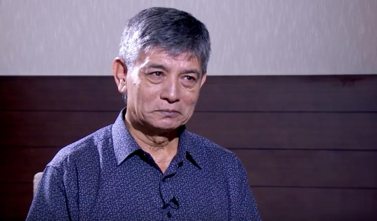 Madan Krishna Shrestha gets emotional   Tough Talk with Dil Bhusan Pathak