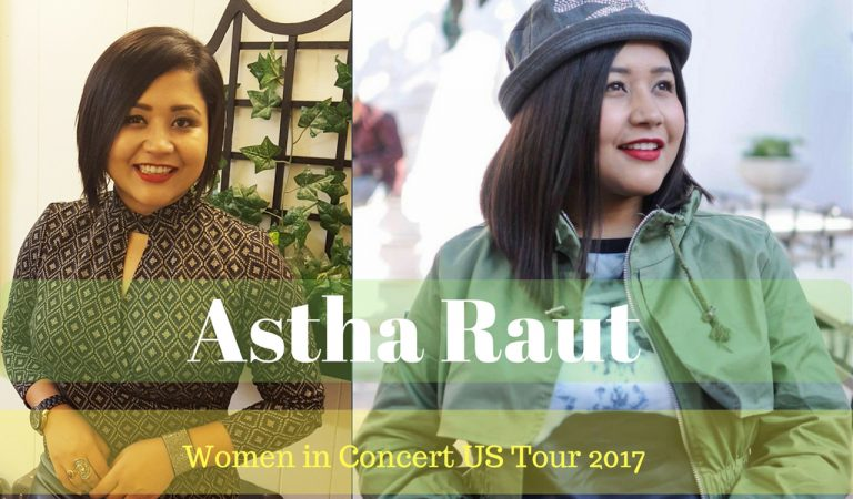 Astha Raut is energized about Women in Concert US Tour 2017 | Video Interview
