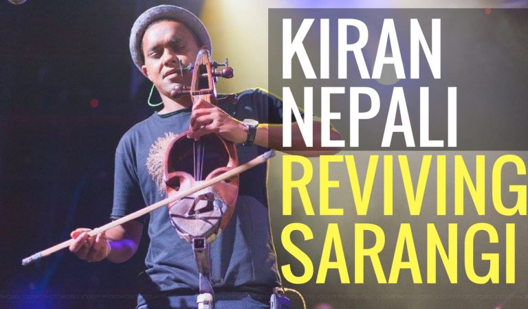 Trying to revive Nepali Folk Music through Project Sarangi | Interview with Kiran Nepali
