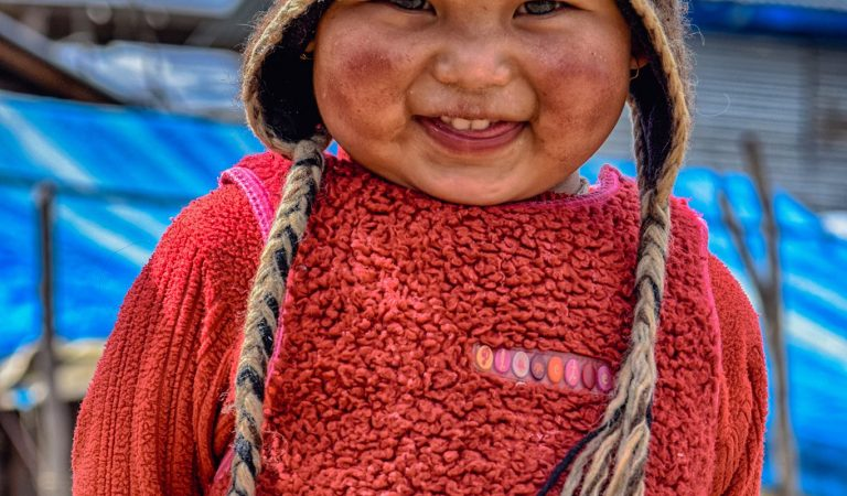 Cutest smile you have ever seen from Laprak, Nepal captured by Suzal Gurung